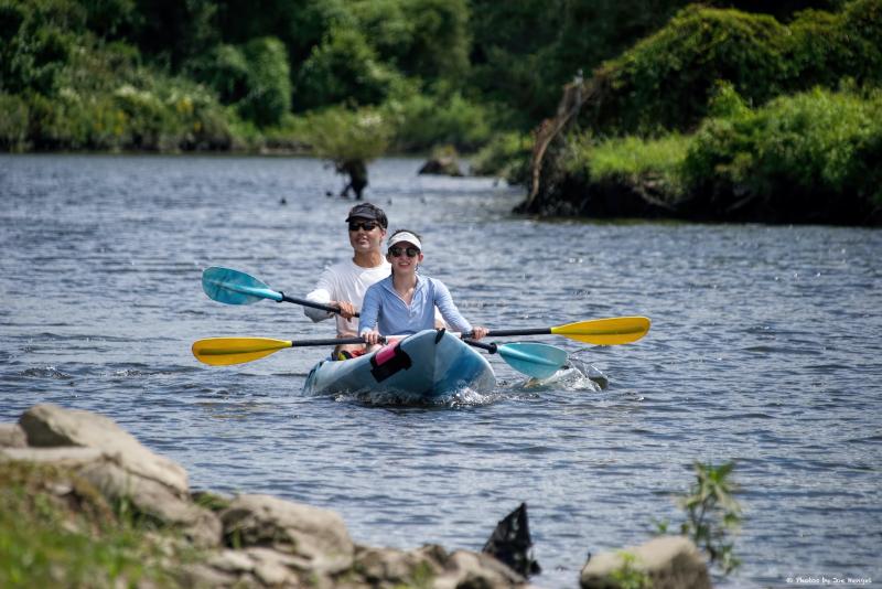 Kayak del río Delaware - excursiones de un día desde la ciudad de Nueva York