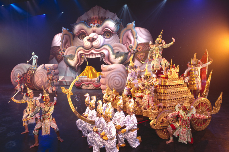 FantaSea Show - Things To Do In Phuket