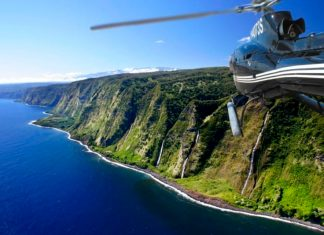 Helicopter tours in Big Island Hawaii