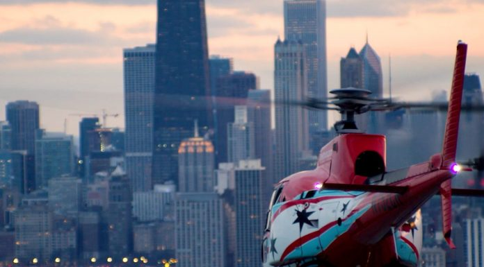 Helicopter tours in Chicago