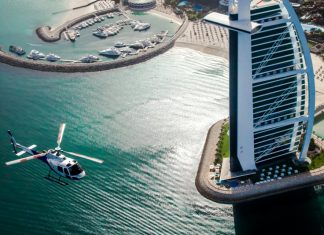 Helicopter tours in Dubai