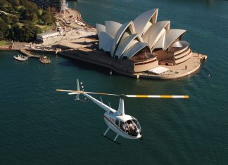 Helicopter tours in Sydney