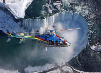 Helicopter tours to Niagara Falls