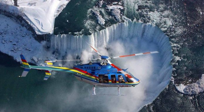 Helicopter tours to Niagara Falls