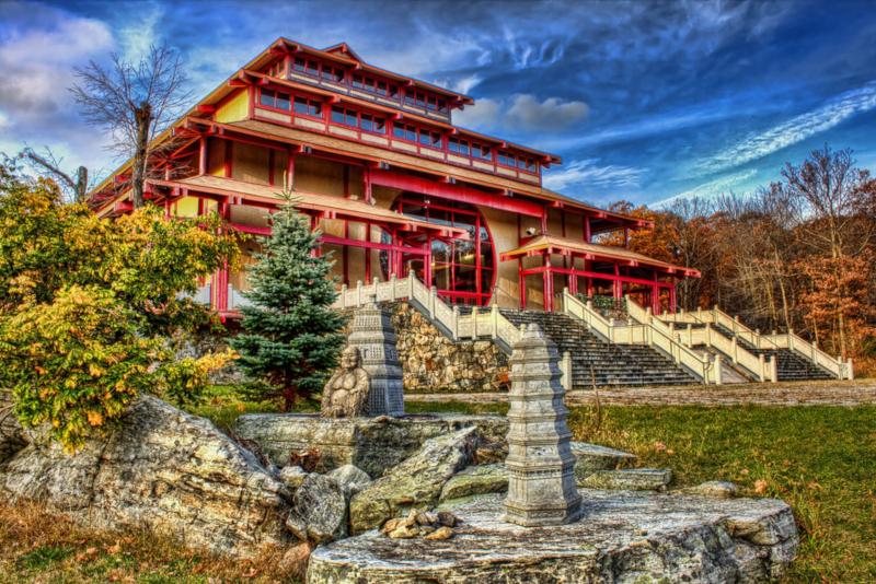 Kent Buddha Monastery - day trips from New York City