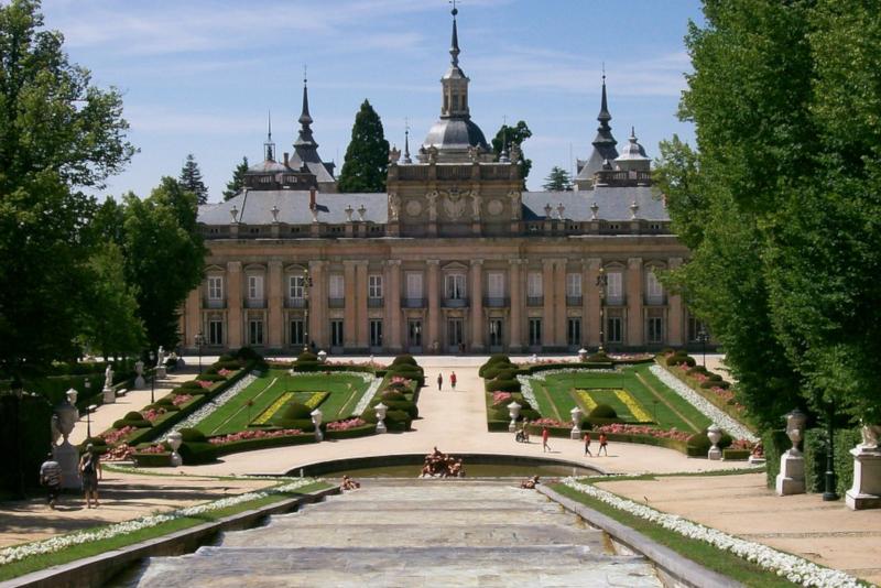 Königspalast von La Granja de San Ildefonso - Tagesausflüge von Madrid
