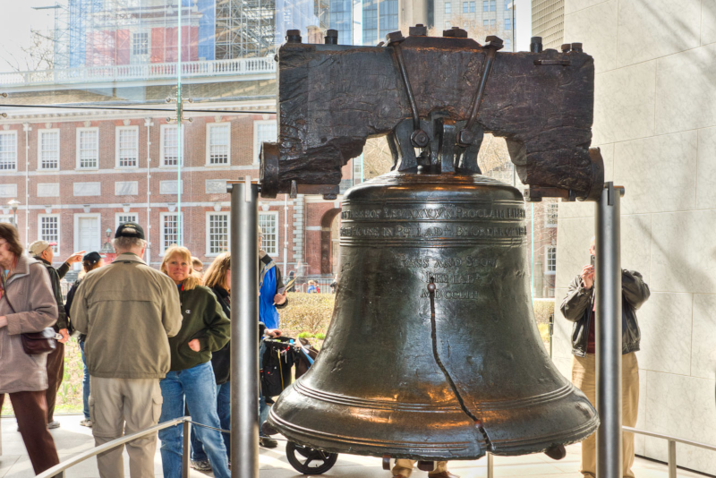 Liberty bell - day trips from New York City