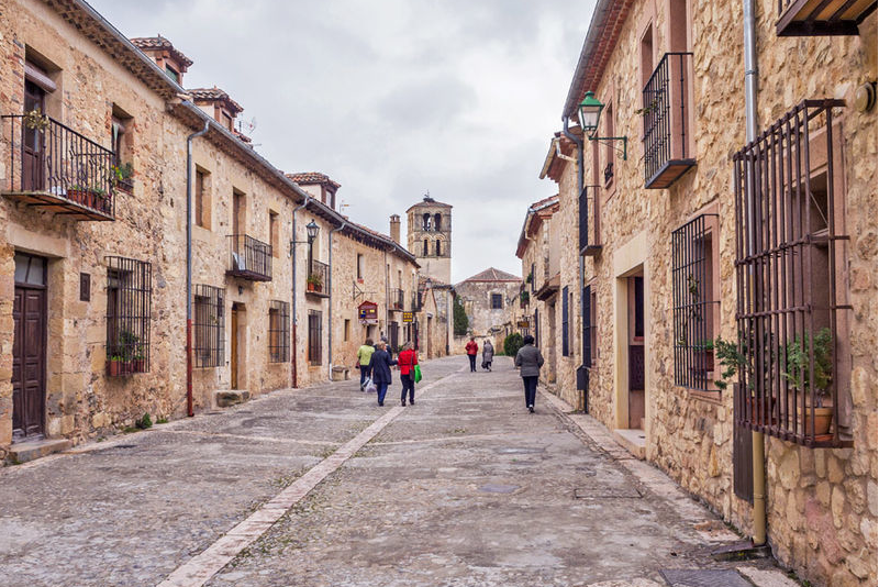 Pedraza streets - Day Trips from Madrid