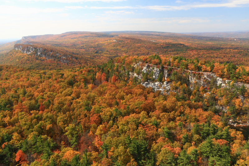 Mohonk preserve day trips from New York City