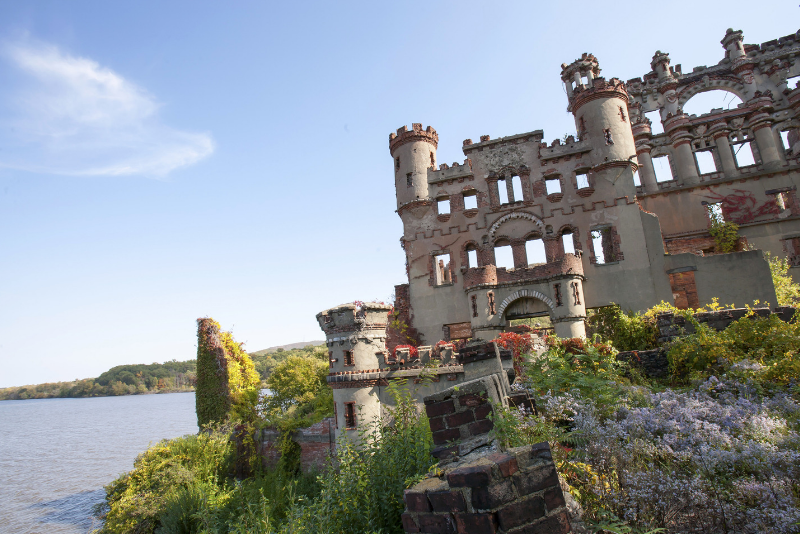 Bannerman Island day trips from New York City