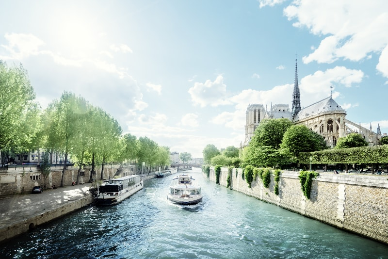 Eiffel Tower guided tour + Seine river cruise