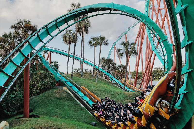 Six Flags Great Adventure - day trips from New York City