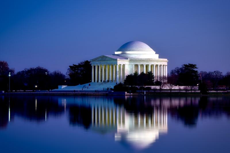 Washington Jefferson Memorial - excursiones de un día desde la ciudad de Nueva York