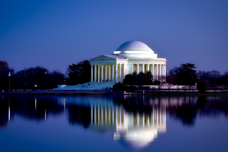 Washington Jefferson Memorial - day trips from New York City