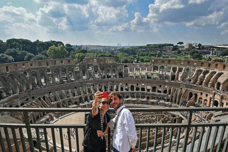 Colosseum belvedere