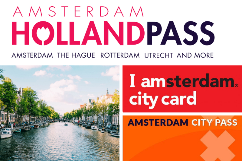 Passagem da cidade de Amesterdão