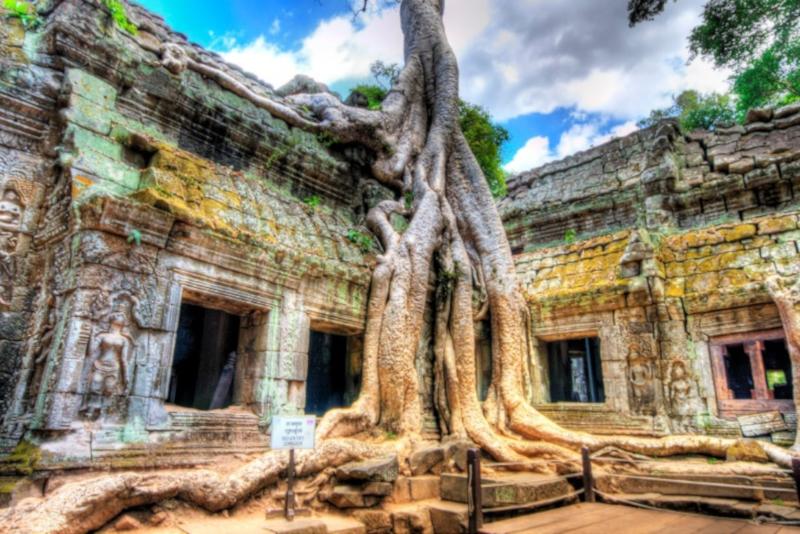 Angkor temples Indiana Jones - Angkor temples tours