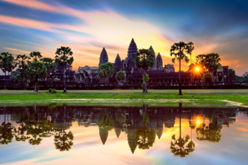 Angkor temples sunset and sunrise tour - Angkor temples tours