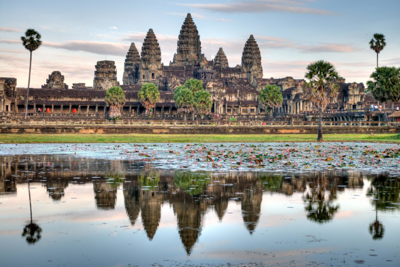 Angkor temples view - Angkor temples tours