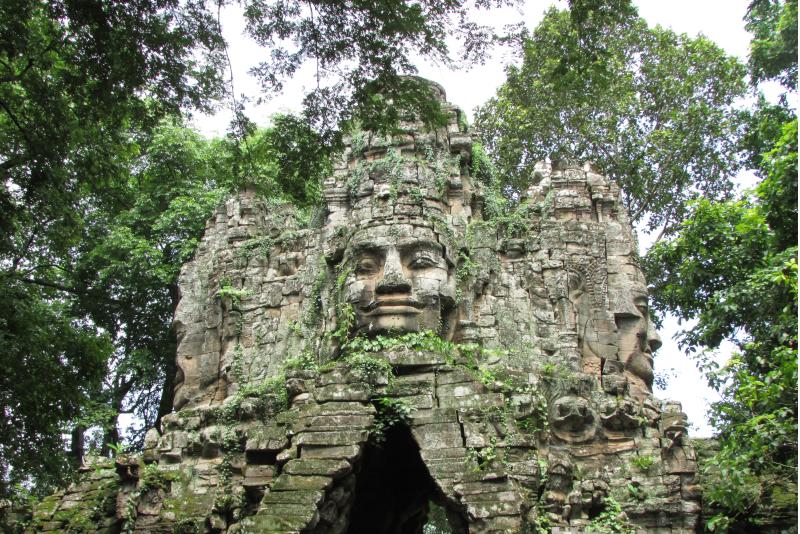 Angkor faces  - Angkor temples tours