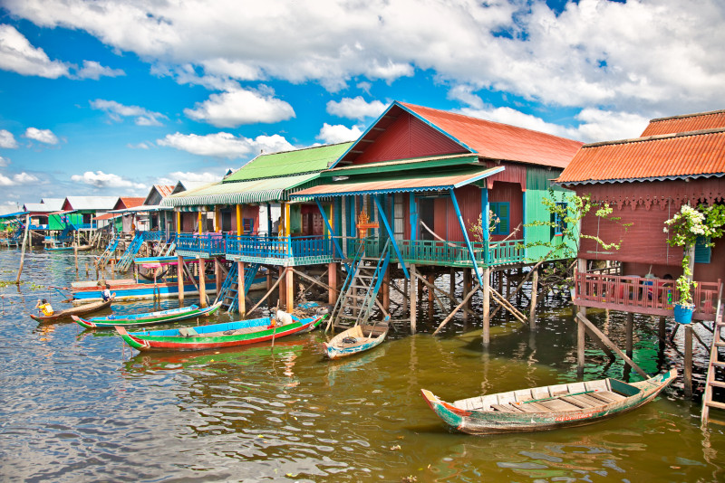 Floating Village - Angkor temples tours