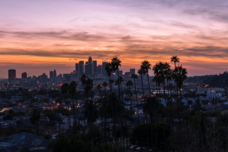 Skyline di Los Angeles