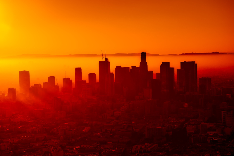Los Angeles sunset helicopter tours