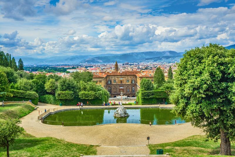 Pitti Palast und Boboli Gärten