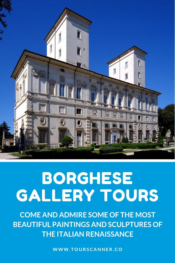 Visites de la galerie Borghese