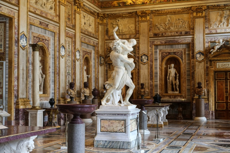 borghese gallery tours - The Rape of Proserpina
