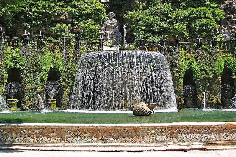 Fountain - Villa d'Este (Tivoli) Tours from Rome