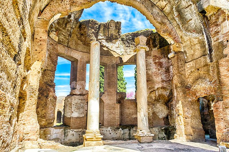 Archeological ruins - Hadrian's Villa tours