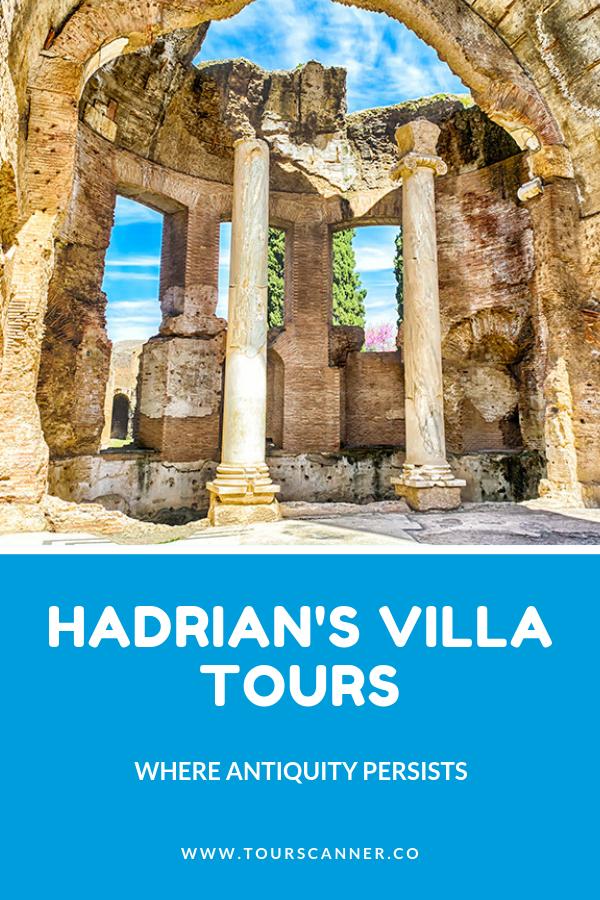 Excursiones a la villa de Adriano
