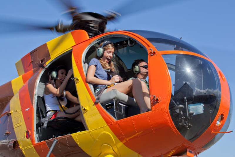 Circle helicopter tours in Big Island