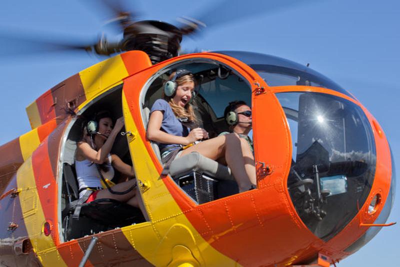 Paseos en Helicóptero Isla Grande de Hawái