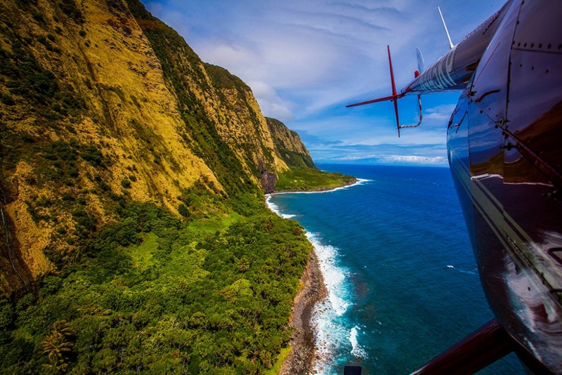 helicopter tours in Big Island
