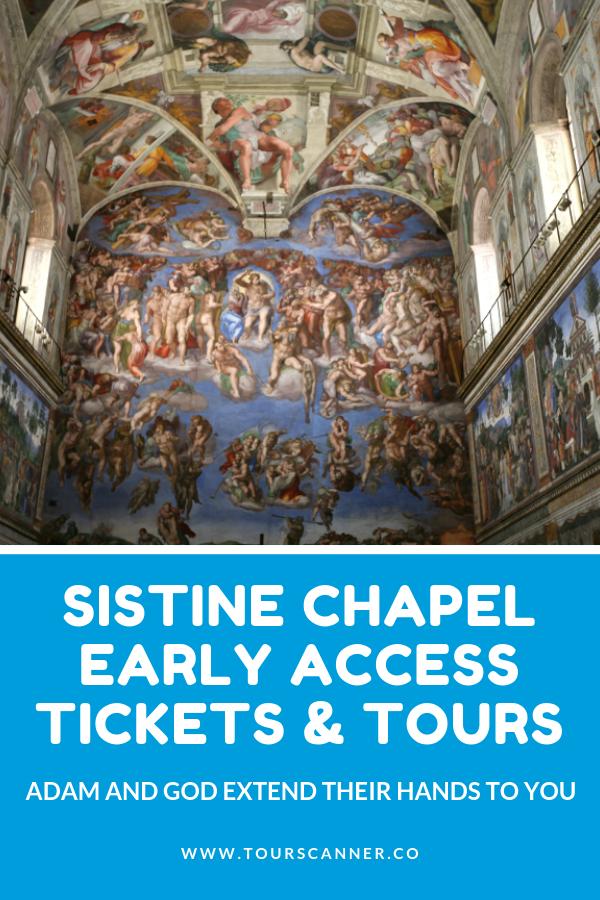 Chapelle sixtine accès anticipé