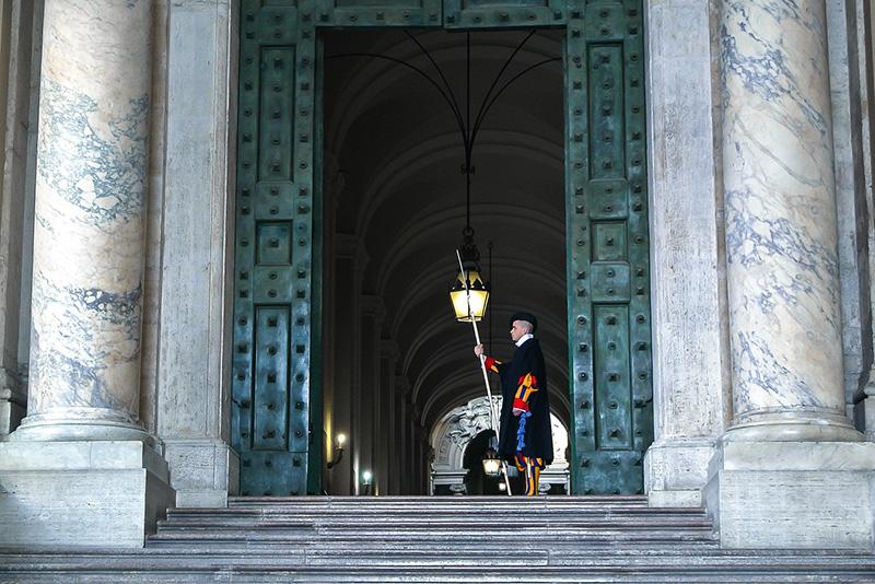 Garde du Vatican - Chapelle Sixtine accès anticipé