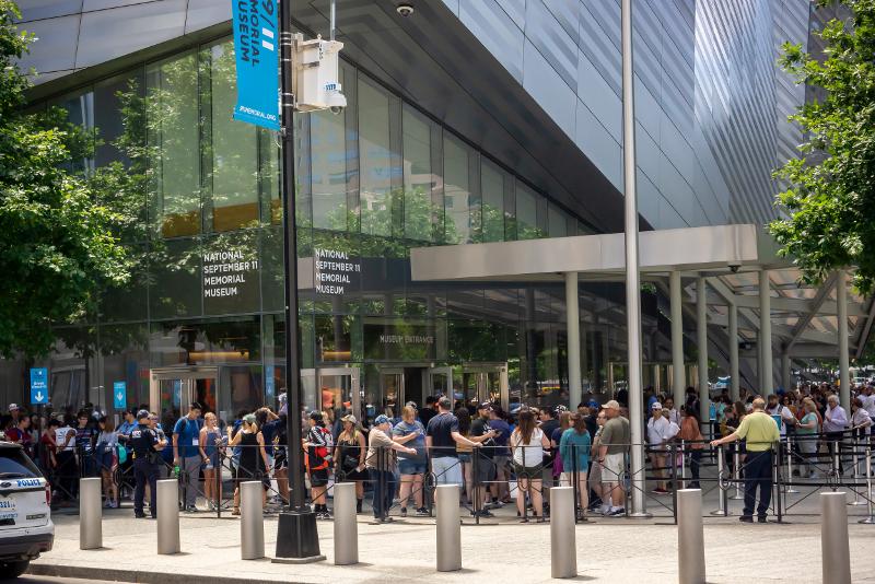 9/11 Memorial & Museum pule os ingressos de linha