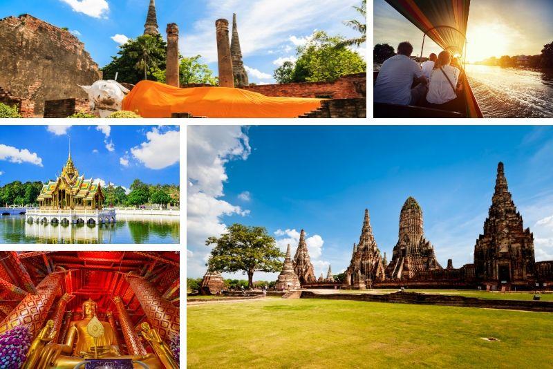 Excursions en bateau Ayutthaya - Excursions en bateau à Bangkok