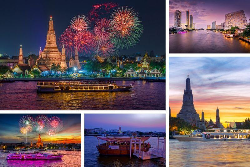 Dîner à Bangkok