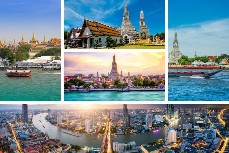 Bangkok River met en évidence des excursions en bateau