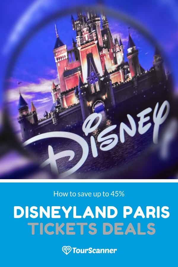 Disneyland Paris tickets deals board