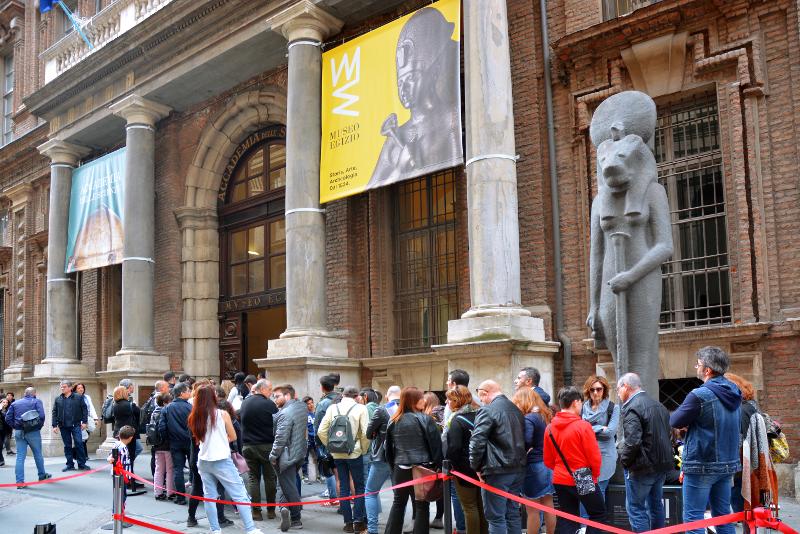Museo Egipcio saltar la cola de entrada