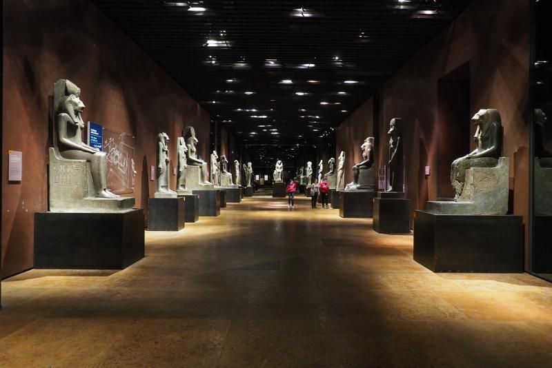 Ägyptisches Museum was zu sehen