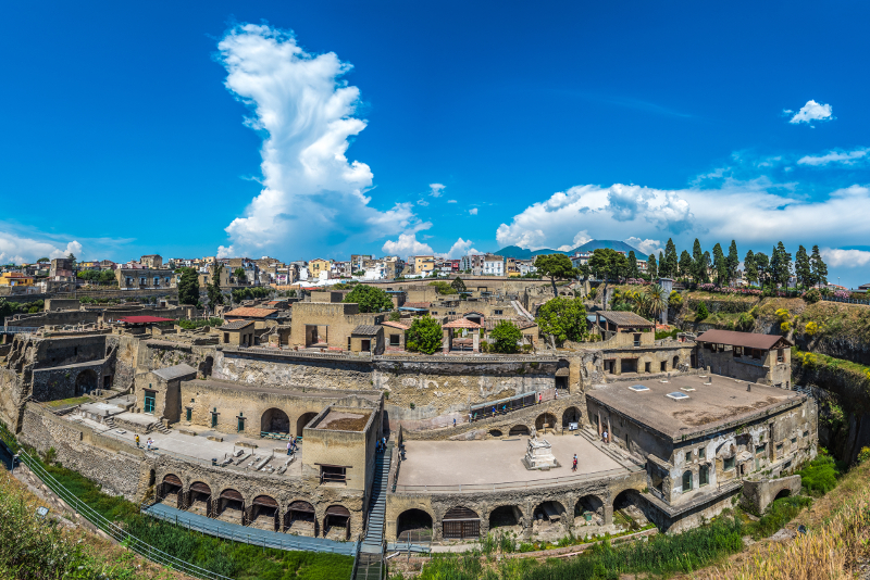 Herculaneum day trips from Naples