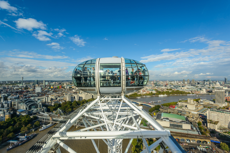 London Eye cosa vedrai