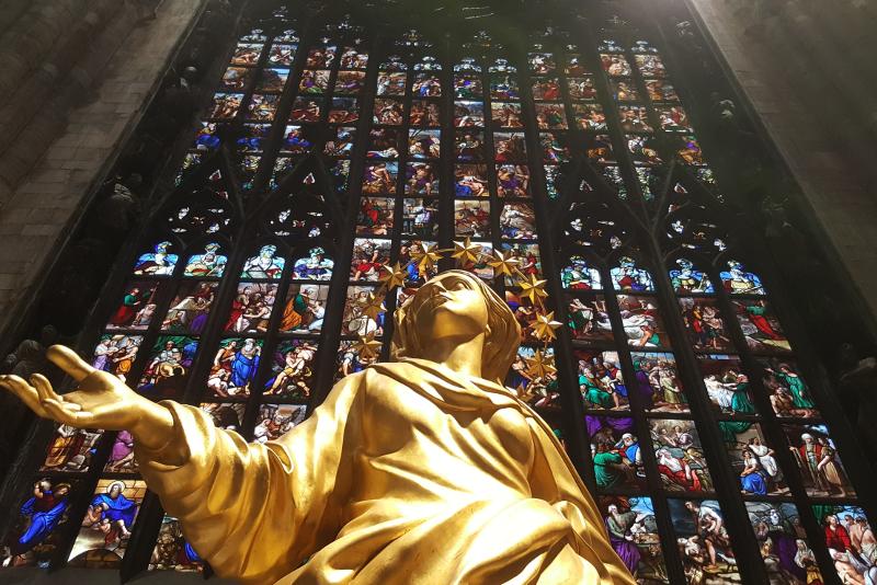 A découvrir au Duomo de Milan