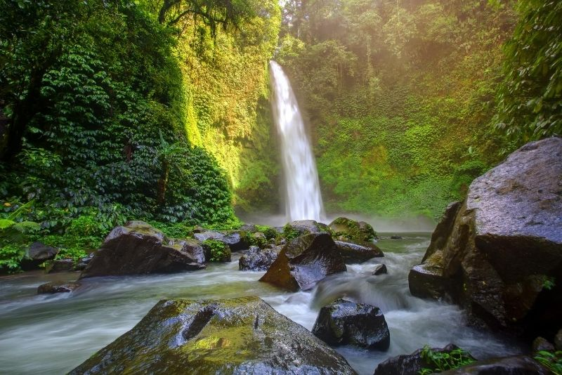 Nungnung Waterfall, Bali, Indonesia - #38 best places to visit in Central Bali