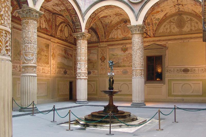 Palazzo Vecchio was zu sehen